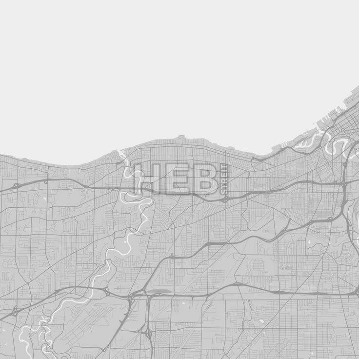 Map Of Us States In 1860%0A Lakewood downtown and surroundings Map in grey version with many details  for high zoom levels