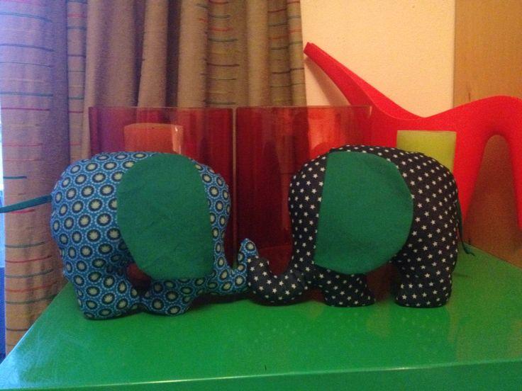Olifantjes voor Vic en Teun