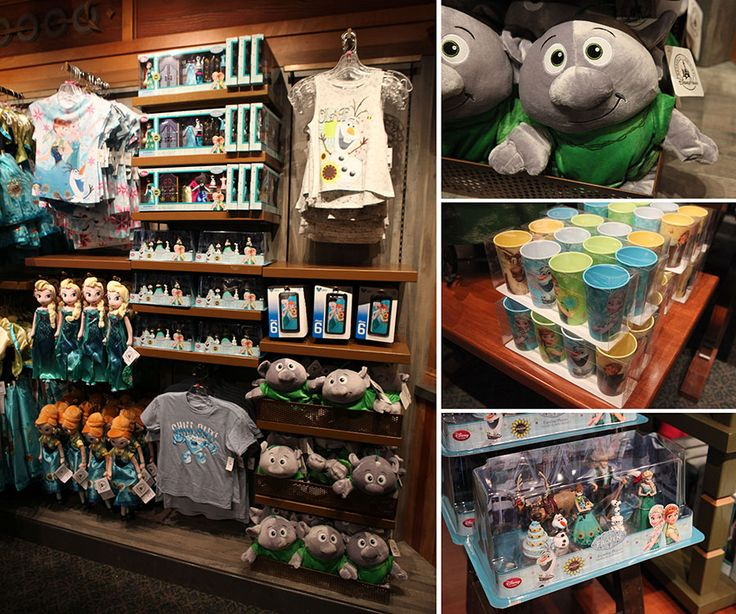 New Frozen Merchandise Appears In 2 Perfectly Themed Stores