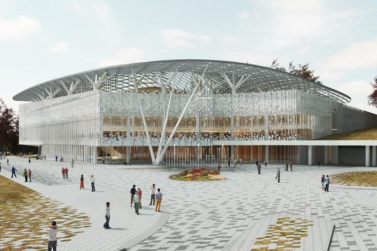 Concert Hall by Diller Scofidio + Renfro Architects in Moscow, Russia
