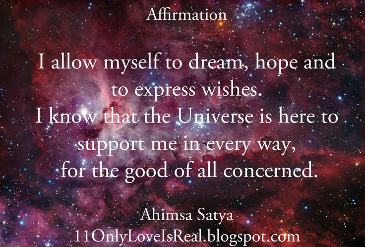 Image result for playing with universe affirmations