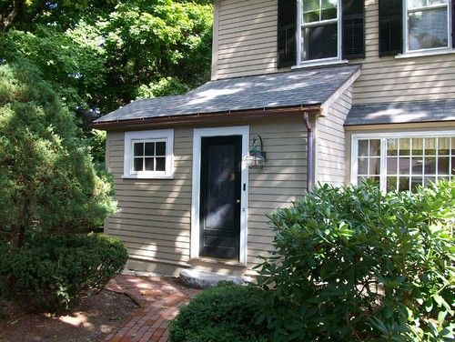 Mudroom addition traditional exterior boston cabot for Building an entryway addition