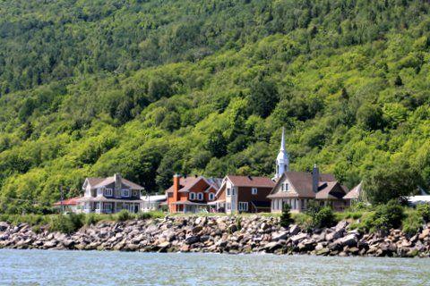 Paysage Petite-Rivière-Saint-François, Charlevoix.