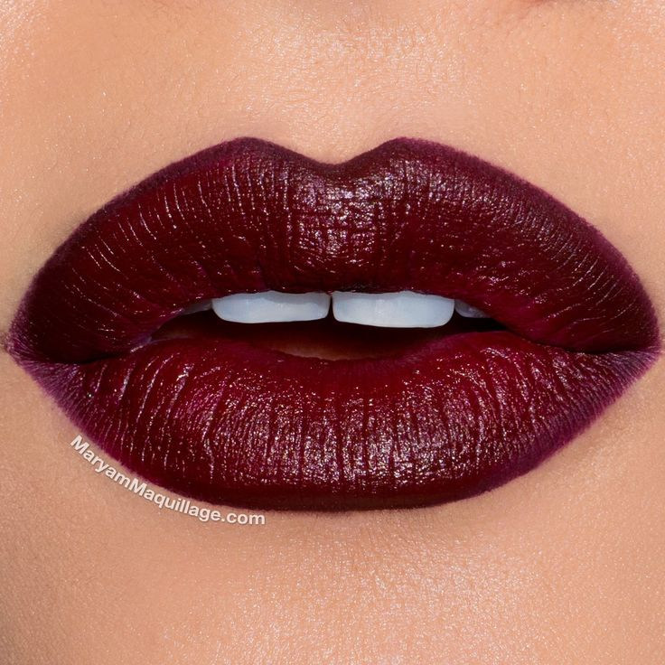 """Maryam Maquillage: """"Holiday Party"""" Makeup    Colour Pop x Ellarie """"Ellarie"""" lip liner & lipstick"""