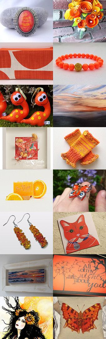 A Squeeze of Orange Juice by Lindsay Buck on Etsy--Pinned with TreasuryPin.com