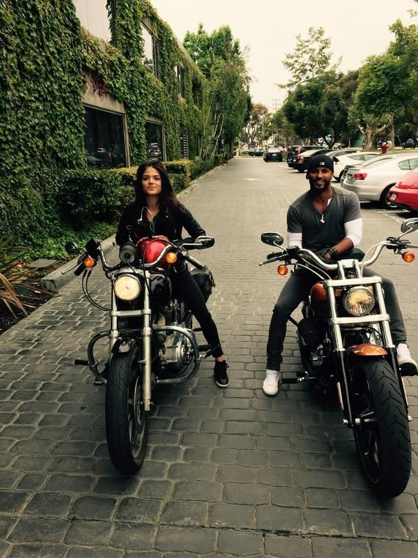 Marie Avgeropoulos and Ricky Whittle    The 100 cast    Linctavia    Lincoln and Octavia Blake