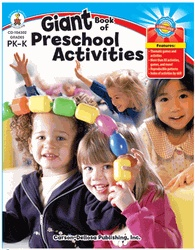 GIANT BOOK OF PRESCHOOL ACTIVITIES GR PK-K by Carson-Dellosa (CD-104302)