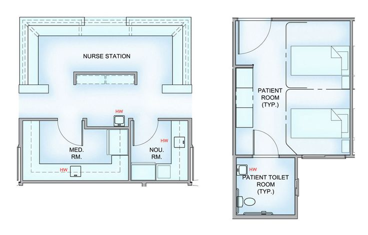 Nursing home patient room layout google search project senior living pinterest home for Emergency room design floor plan