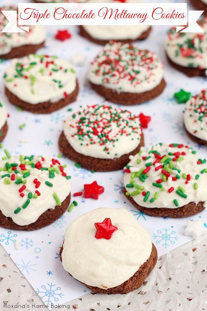 Triple Chocolate Meltaway Cookies Recipe 4