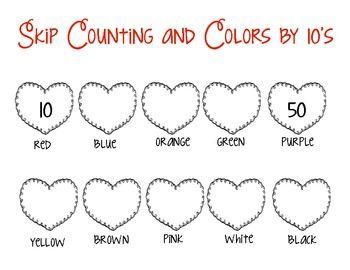 1000 images about counting by tens on pinterest valentines cut and paste and activities. Black Bedroom Furniture Sets. Home Design Ideas