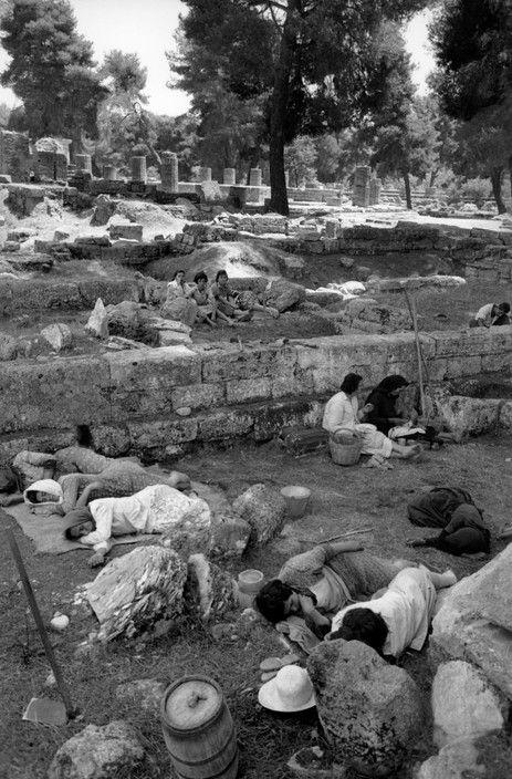 Henri Cartier-Bresson View profile GREECE. Olympia. 1961.