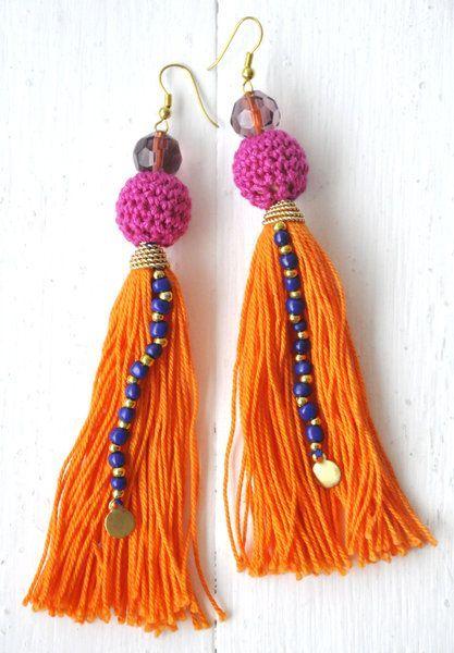 Los flecos combinan también con tus accesorios. ¡Anímate a llevarlos en unos aretes largos! #bohochic #primavera