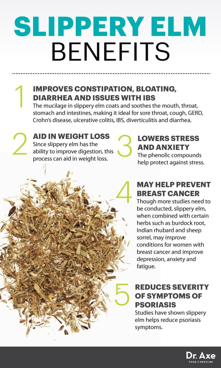 Slippery Elm: The Digestive Aid that May Fight Breast Cancer - Dr. Axe