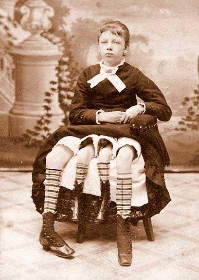 Antiguas fotos de artistas de circo