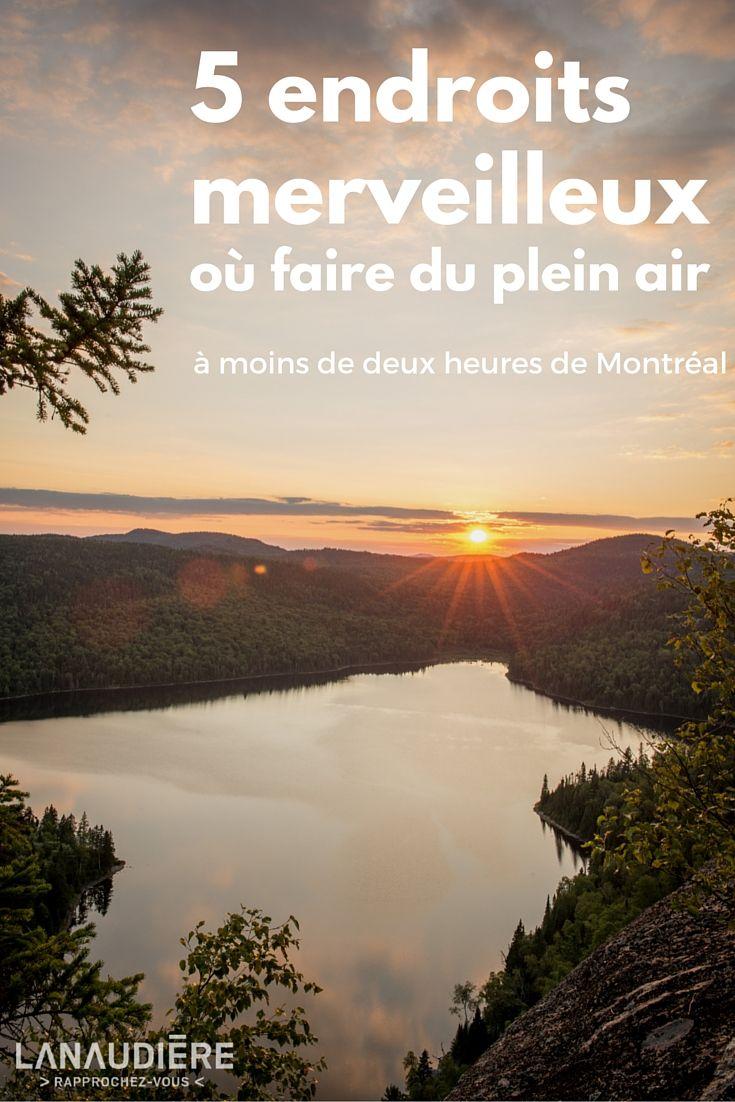 5 endroits merveilleux où faire du plein air à moins de deux heures de Montréal | Narcity Montréal  Photo: Jimmy Vigneux