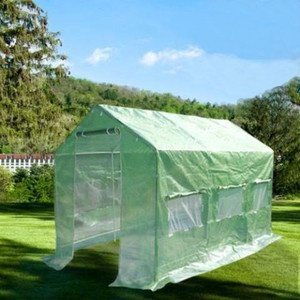 Greenhouse Large Green Garden Hot House 12 X7 New