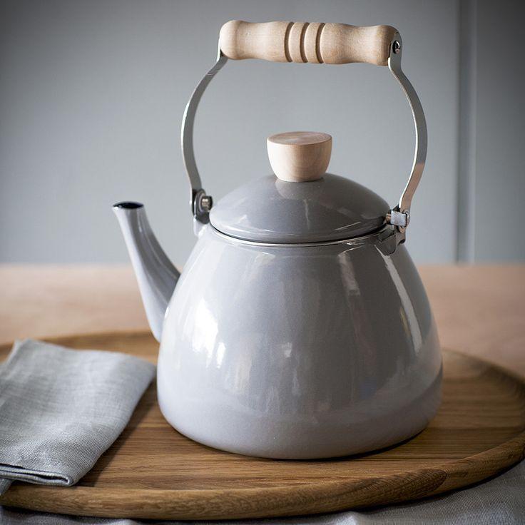 Small Enamel Tea Kettle