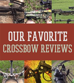 Our Favorite Crossbow Reviews | The best hunting rifles, hunting knives, and other survival gear at survivallife.com #hunting #huntingtips #survivaltips