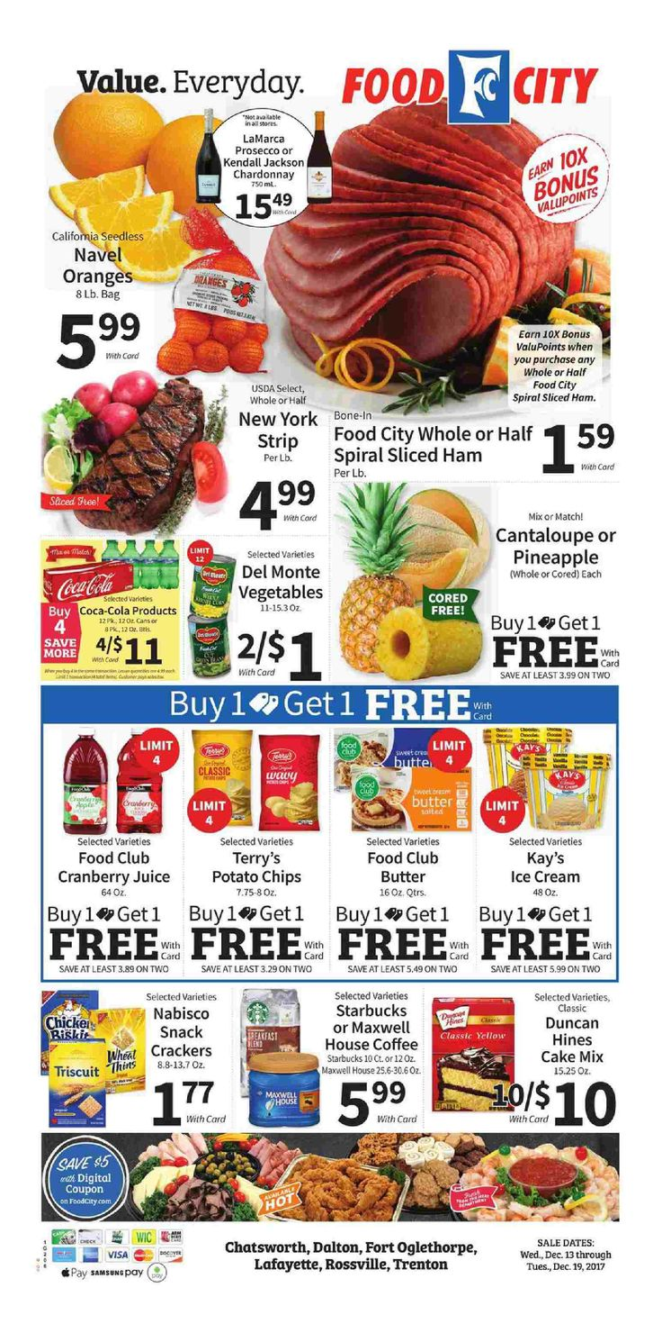 Food city weekly ad december 13 19 2017 httpwww