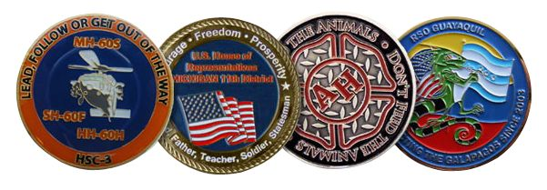 custom challenge coins were only used for military usage. The history proved their importance and gradually entered the lives of common people.