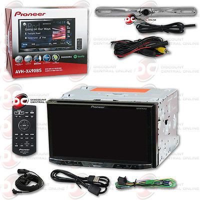 Car Audio In-Dash Units: Pioneer Car 2Din 7 Lcd Dvd Cd Bluetooth Stereo Free Chrome License Plate Camera -> BUY IT NOW ONLY: $279.99 on eBay!