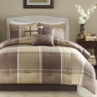 Madison Park Emmet Plaid 7-pc. Comforter Set  found at @JCPenney