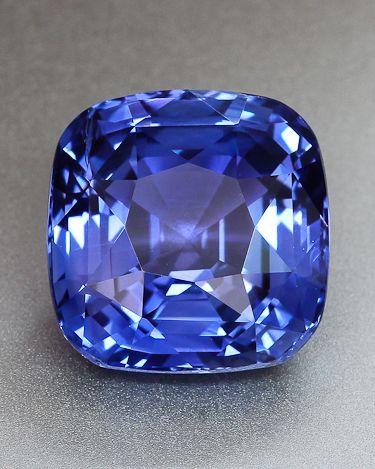 Violet Blue Sapphire from Sri Lanka