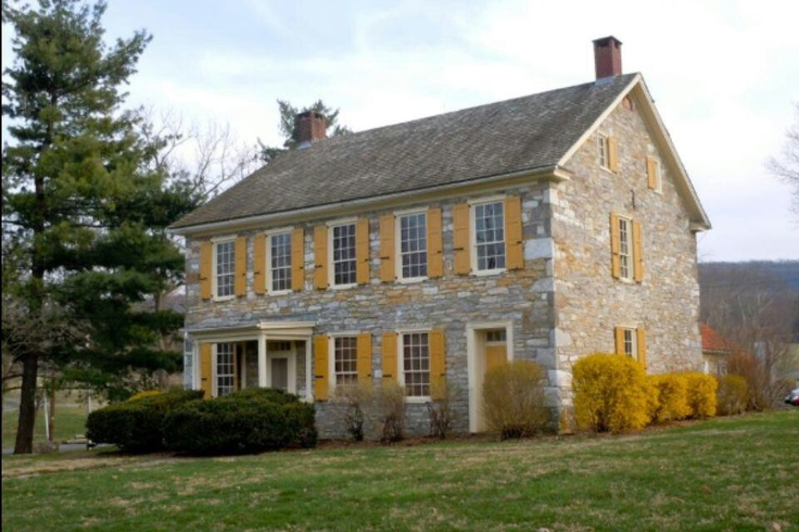 Pennsylvania stone farmhouse Pennsylvania farmhouses Pinterest