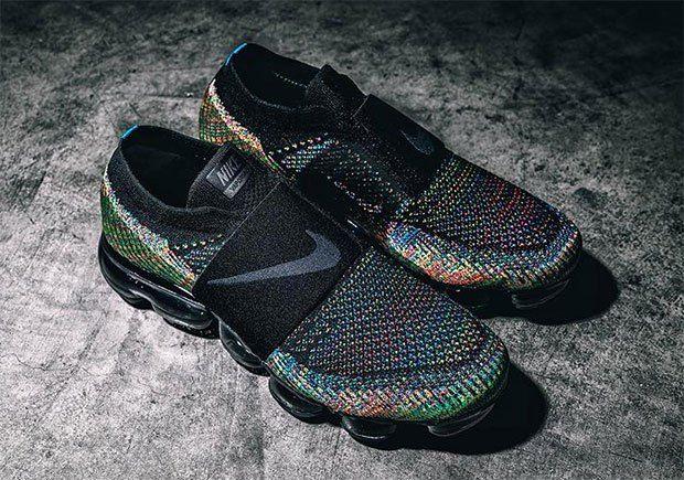 nike vapormax moc multicolor on feet