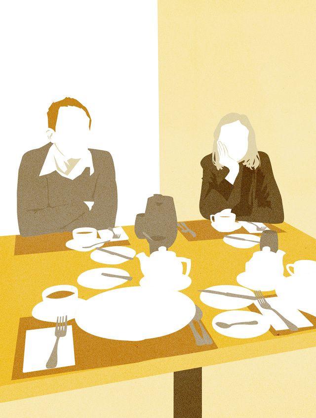 Breakfast illustration by Amy DeVoogd
