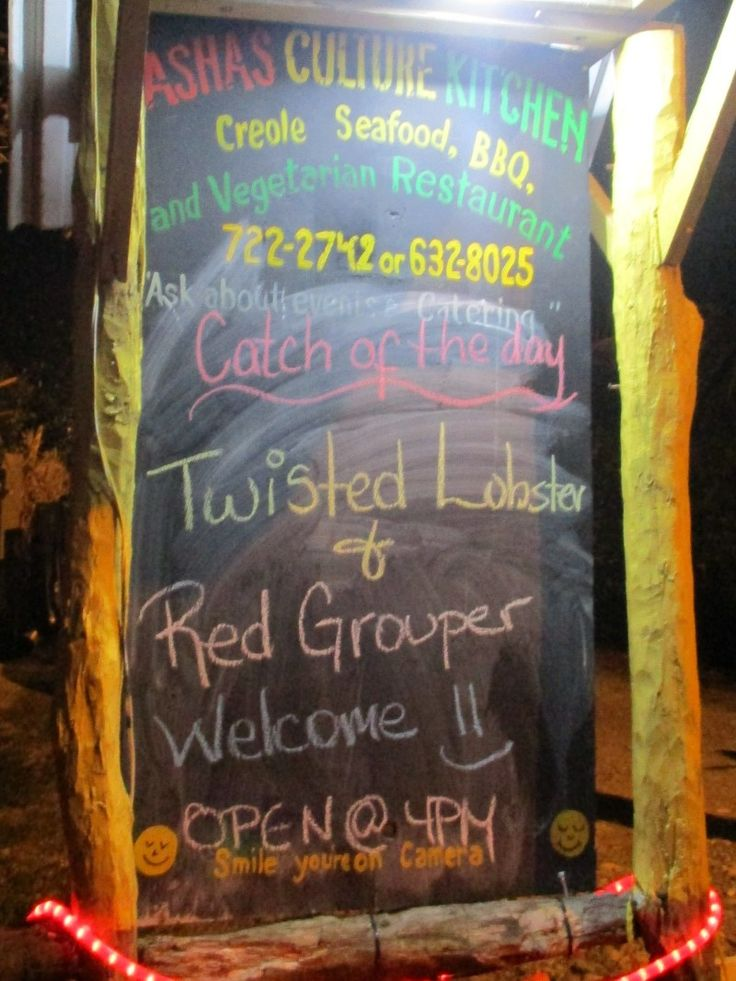 eat in punta gorda belize
