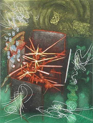 Roberto Matta, Une saison d'enfer - Je Suis Intact  Discover the coolest shows in New York at www.artexperience.com