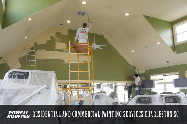 Best Experienced Commercial Painting Contractors In Charleston Sc Are Provided By Powell R Bathroom Remodeling Contractors Home Insulation Painting Contractors