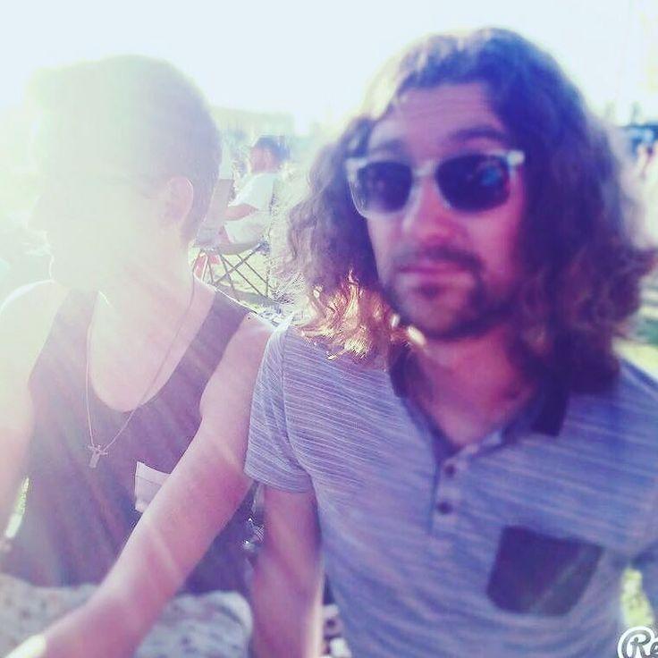 Er zit iemand naast me ;-) @jeroensel  #summertime #rollendekeukens #amsterdamlife #summer #amsterdam #sun #netherlands