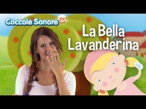 La Bella Lavanderina - Balliamo con Greta - Canzoni per bambini di Coccole Sonore - YouTube