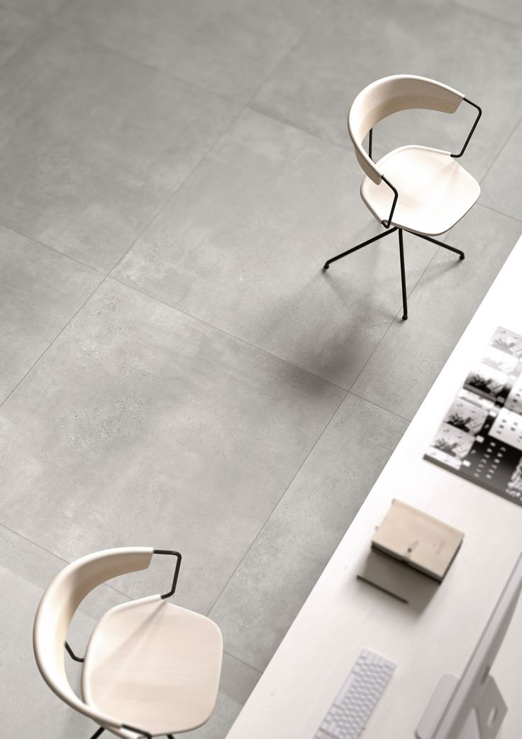 Porcelain stoneware tiles in concrete and cotto look …