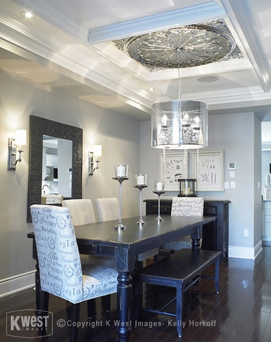 Dark Hardwood Dining Rooms And Hardwood Floors On Pinterest