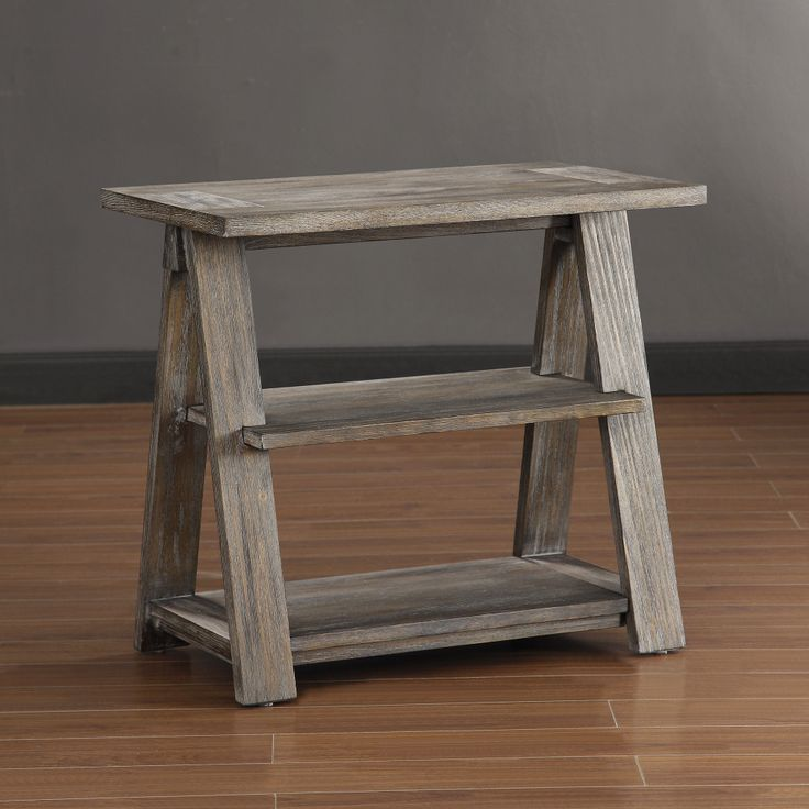 Renate ladder end table for Ladder coffee table
