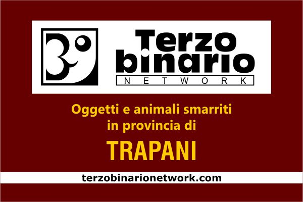 Oggetti e animali smarriti in provincia di Trapani