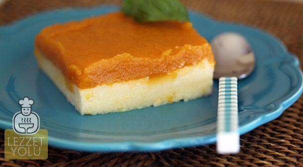 Hafif, pratik ve farklı bir tatlı yapmak isteyenler; bu tarif tam size göre...