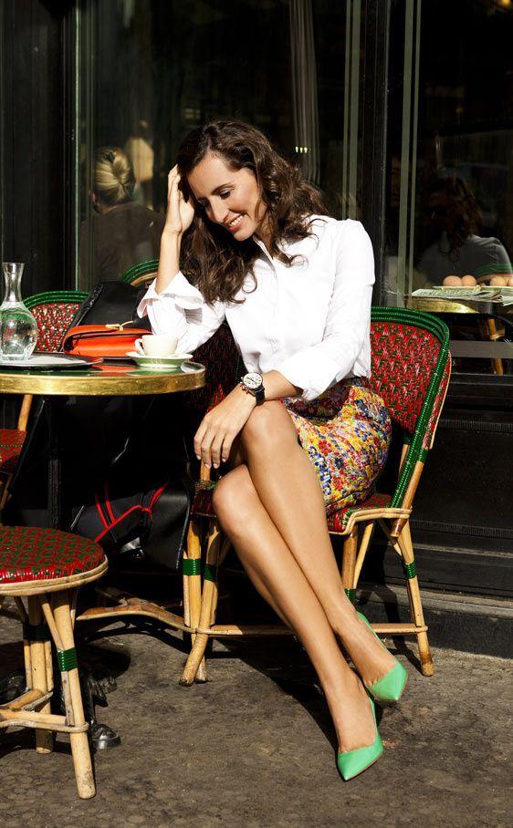 Mónica de Tomás, imagen de Tag Heuer, hace de guía por París