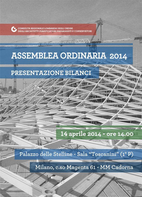 """""""Assemblea ordinaria 2014"""" - progetto grafico Redazione di AL"""
