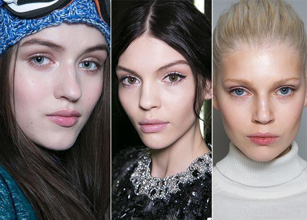 Fall/ Winter 2014-2015 Makeup Trends: Natural Makeup  #beautytrends #makeuptrends #makeup