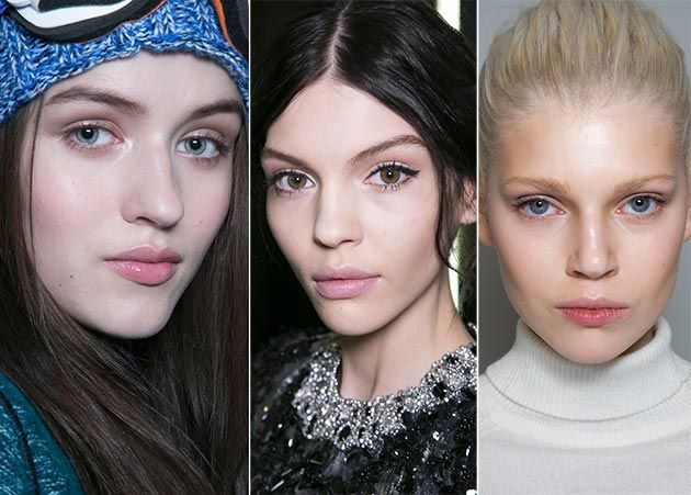 Fall/ Winter 2014-2015 Makeup Trends: Natural Makeup  #beautytrends #makeuptrends #makeup