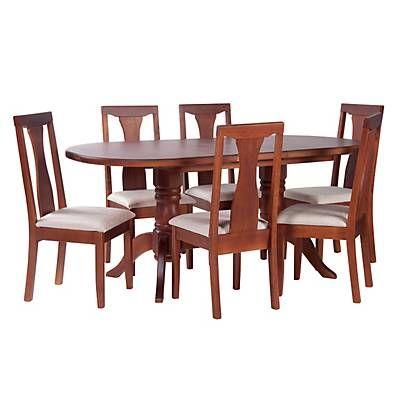 Me gust este producto mica juego de comedor 6 sillas for Lo ultimo en sillas de comedor
