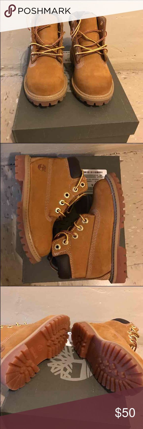 Toddler Timberlands Worn one time! Excellent condition. Size 8 in toddler Timberland Shoes Boots