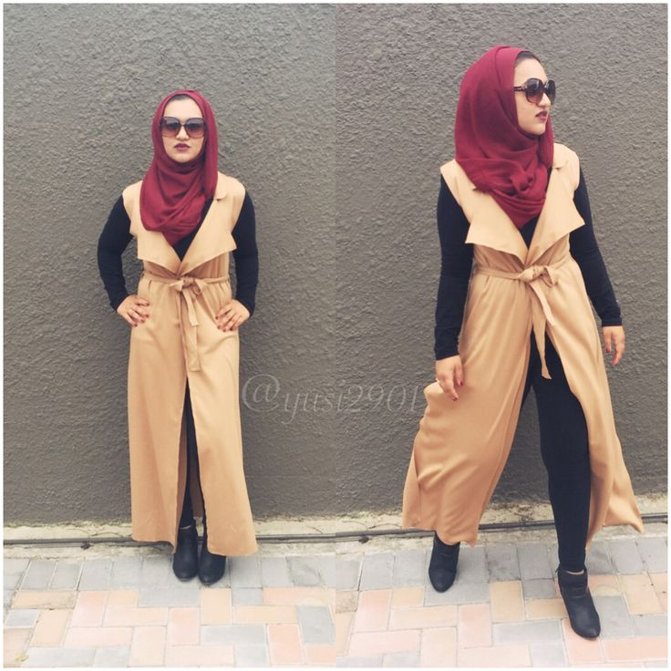 Life isn't perfect, but your outfit can be #hijabi #hijarbielookbook #streetfashion #ootd #modest