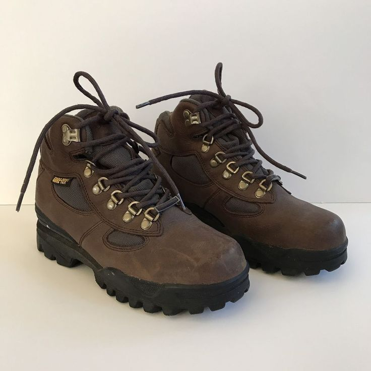 Redhead Bone Dry Gore Tex Day Hiker Boots Brown Womens 7.5M Outdoor Walking #RedHead