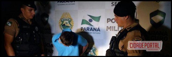 Após denuncia anonima Rotam de Campo Mourão prende um acusado de tráfico, outro foi morto após confronto com policiais