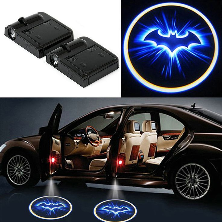 Details About 2x Batman Car Door Projector Laser Led Light Welcome Shadow Logo Light For Mazda Car Accessories Lighting Logo Cheap Led Lights Car Interio